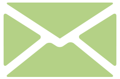 A light green envelope icon